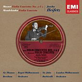 Historical Series: Mozart; Violin Concertos K218 & 219 etc.. by London Philharmonic Orchestra