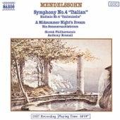 Italian Symphony by Felix Mendelssohn