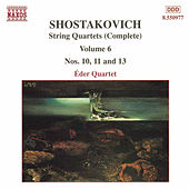 String Quartets (Complete) Vol. 6 by Dmitri Shostakovich