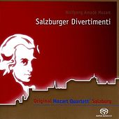 Salzburger Divertimenti by Wolfgang Amadeus Mozart