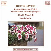 Piano Sonatas Vol. 3 by Ludwig van Beethoven