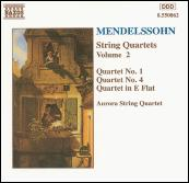 String Quartets Vol. 2 by Felix Mendelssohn