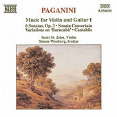 Music for Violin and Guitar Vol. 1 by Nicolo Paganini