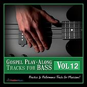Gospel Play-Along Tracks for Bass Vol. 12 by Fruition Music Inc.