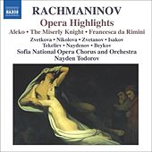 RACHMANINOV: Aleko / The Miserly Knight / Francesca da Rimini (excerpts) by Various Artists