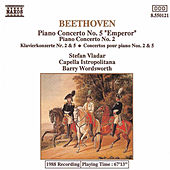 Piano Concertos Nos. 2 and 5 by Ludwig van Beethoven