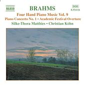 BRAHMS: Four-Hand Piano Music, Vol. 9 by Silke-Thora Matthies
