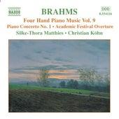 BRAHMS: Four-Hand Piano Music, Vol. 9 by Silke-Thora Matthies