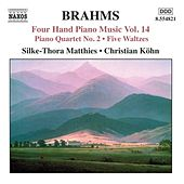 BRAHMS: Four-Hand Piano Music, Vol. 14 by Silke-Thora Matthies