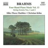 BRAHMS: Four-Hand Piano Music, Vol. 13 by Silke-Thora Matthies