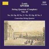 SPOHR: String Quartets Nos. 24 and 25 by Moscow Philharmonic Concertino Quartet