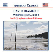 DIAMOND: Symphonies Nos. 2 and 4 by Seattle Symphony Orchestra