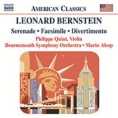 BERNSTEIN: Serenade / Facsimile / Divertimento by Bournemouth Symphony Orchestra