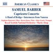 BARBER: Capricorn Concerto / A Hand of Bridge / Canzonetta / Intermezzo by Royal Scottish National Orchestra