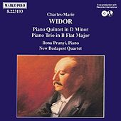 WIDOR: Piano Trio, Op. 19 / Piano Quintet, Op. 7 by Ilona Prunyi