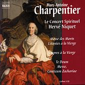 CHARPENTIER 3 CD Box (France only) von Le Concert Spirituel