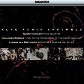 Mahler: Piano Quartet, Brahms: Hymn To The Veneration of the Great Joachim, Beethoven: Septet in E Flat Major Op. 20 by Alpok Adria Együttes