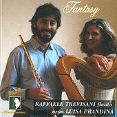 Rota, Lauber, Damase, Harty, Shaposchnikov: Fantasy, works for flute and harp by Luisa Prandina