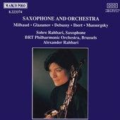 Saxophone and Orchestra by Sohre Rahbari