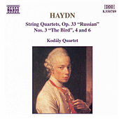 String Quartets, Op. 33, Nos. 3, 4 and 6 by Franz Joseph Haydn