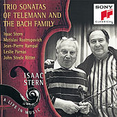The Bachs/Telemann: Trio Sonatas by Isaac Stern