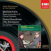 Beethoven: Piano Concertos 1-5, Choral Fantastia by New Philharmonia Orchestra