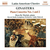Piano Concertos Nos. 1 and 2 by Alberto Ginastera
