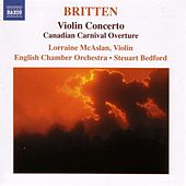 BRITTEN: Violin Concerto / Canadian Carnival / Mont Juic by Various Artists
