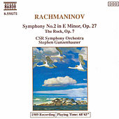 RACHMANINOV: Symphony No. 2 / The Rock, Op. 7 by Slovak Radio Symphony Orchestra