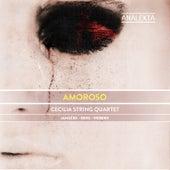 Amoroso: Janáček: Quartet No. 1 - Berg: Lyric Suite - Webern: Langsamer Satz by Cecilia String Quartet