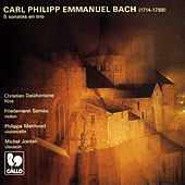 Carl Philipp Emmanuel Bach: 5 Trio Sonatas (Played in Quartet) by Michel Jordan