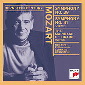 Mozart: Le Nozze di Figaro Overture; Symphonies No. 39 & 41 by New York Philharmonic