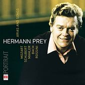 Mozart, Schubert, Mahler, Bach & Rossini: Arias and Songs (Portrait Hermann Prey) by Various Artists