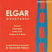 Elgar:  Overture: In The South; Overture: Cockaigne; Froissart Overture; Overture In D Minor by Scottish National Orchestra