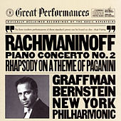 Rachmaninoff: Concerto No. 2 in C minor for Piano and Orchestra, Op. 18, and Rhapsody on a Theme of Paganini, Op. 43 by New York Philharmonic