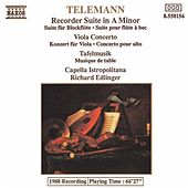 TELEMANN: Viola Concerto / Recorder Suite in A minor / Tafelmusik by Various Artists