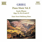 Piano Music Vol. 8 by Edvard Grieg