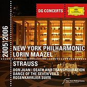 Strauss, R.: Don Juan; Rosenkavalier Suite; Death and Transfiguration; Dance of the Seven Veils by New York Philharmonic