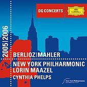 Mahler: Symphony No.1 / Berlioz: Harold in Italy by New York Philharmonic