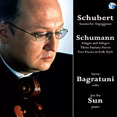 Schubert & Schumann. Works for Cello and Piano by Jen-Ru Sun