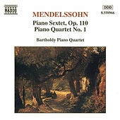 Piano Quartet No. 1/ Sextet, Op. 110 by Felix Mendelssohn