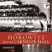Great Moments of Vladimir Horowitz live at Carnegie Hall by Various Artists