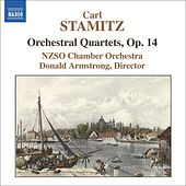 STAMITZ, C.: Orchestral Quartets, Op. 14 by NZSO Chamber Orchestra