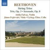 BEETHOVEN: Complete String Trios, Vol. 1 by Attila Falvay