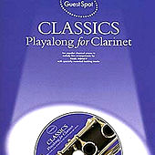 Playalong for Clarinet: Classics by The Backing Tracks