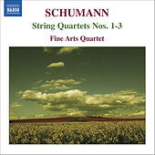 SCHUMANN: String Quartets Nos. 1-3 by Fine Arts Quartet