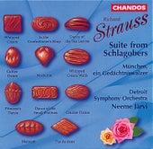 Richard Strauss: Schlagobers Suite, TrV 243a & München, ein Gedächtniswaltzer, TrV 274 by Detroit Symphony Orchestra