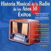 Historia Musical de la Radio de los Años 50. Éxitos von Various Artists