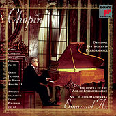 Chopin: Concerto for Piano and Orchestra No. 2 in F Minor, Op. 21 by Emanuel Ax