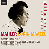 Mahler: Symphonies Nos. 1-3 by Philharmonia Orchestra